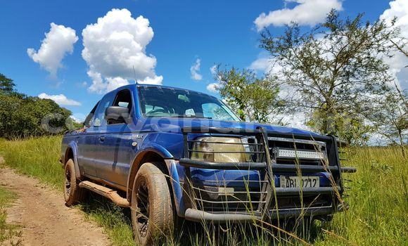 Buy Used Ford Ranger Blue Car in Ndola in Zambia