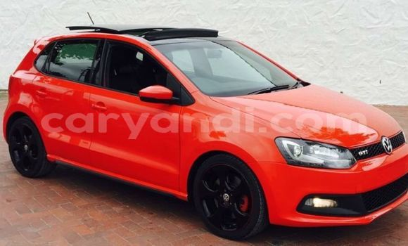 Buy Used Volkswagen Polo Red Car in Lusaka in Zambia