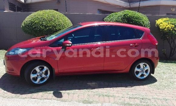 Buy Used Ford Fiesta Red Car in Lusaka in Zambia