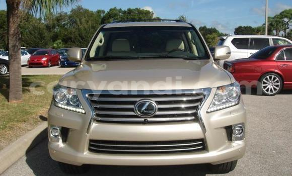 Buy Used Lexus LX Brown Car in Lusaka in Zambia