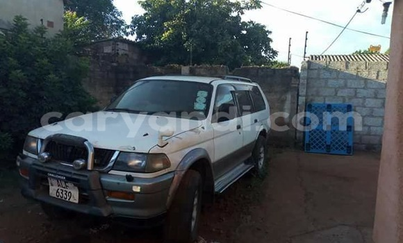 Buy Used Mitsubishi Challenger White Car in Lusaka in Zambia