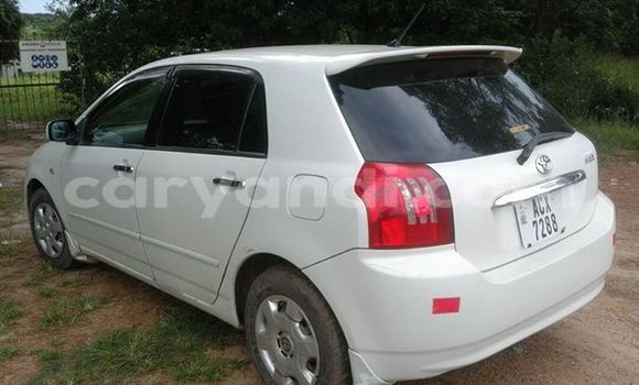 Buy Used Toyota Runx White Car in Ndola in Zambia