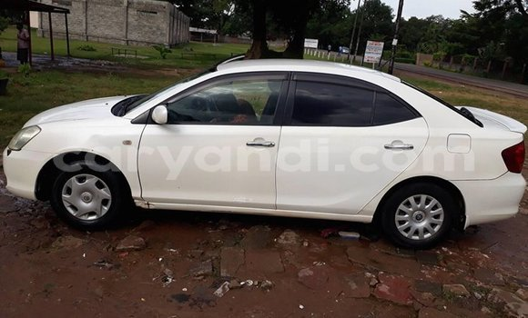 Buy Used Toyota Allion White Car in Kitwe in Zambia