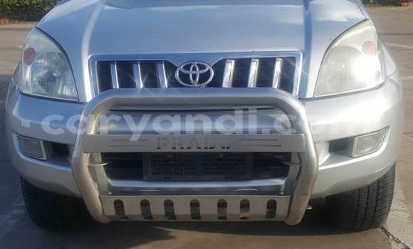Buy New Toyota Prado Silver Car in Lusaka in Zambia