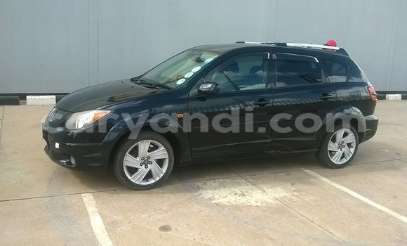 Buy Used Toyota Voltz Black Car in Chingola in Zambia