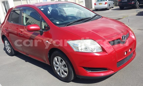Buy Used Toyota Auris Red Car in Lusaka in Zambia