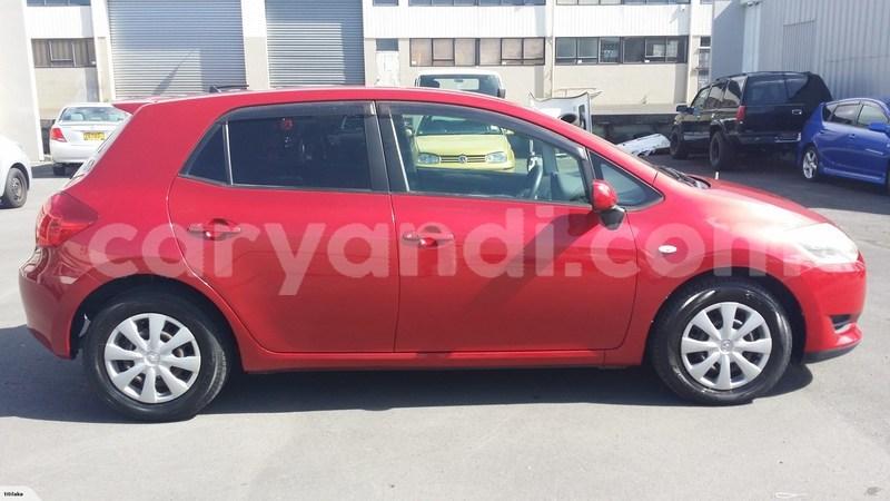 Buy Used Toyota Auris Red Car In Lusaka In Zambia Caryandi