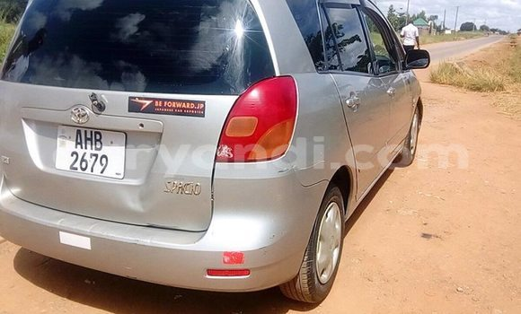 Buy Used Toyota Spacio Silver Car in Kabwe in Zambia