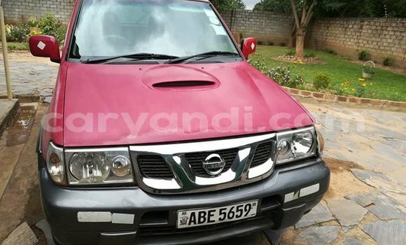 Buy Used Nissan Terrano Red Car in Lusaka in Zambia