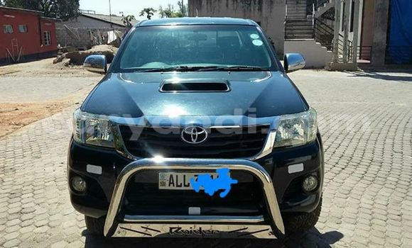 Buy Used Toyota Hilux Black Car in Lusaka in Zambia