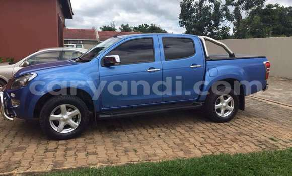 Buy Used Isuzu Rodeo Blue Car in Lusaka in Zambia