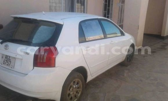 Buy Used Toyota Runx White Car in Lusaka in Zambia