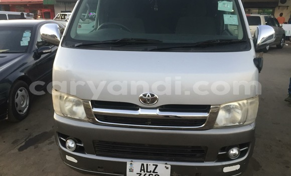 Buy Used Toyota Hiace Silver Car in Lusaka in Zambia