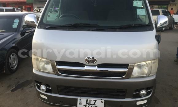 Buy Used Toyota Hiace Silver Car in Lusaka in Zambia