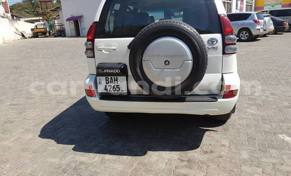 Buy Used Toyota Prado White Car in Lusaka in Zambia