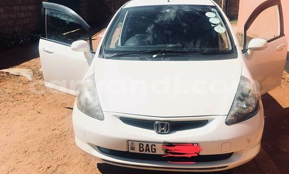 Buy Used Honda Fit White Car in Lusaka in Zambia
