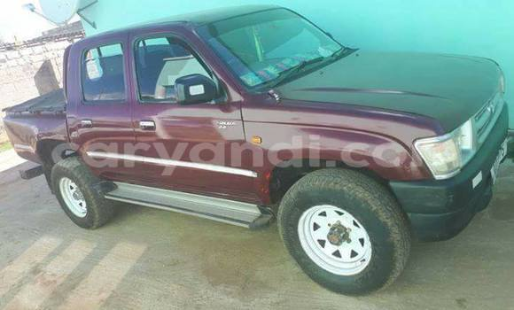 Buy Used Toyota Hilux Red Car in Lusaka in Zambia