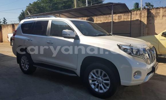 Buy Used Toyota Land Cruiser Prado White Car in Lusaka in Zambia