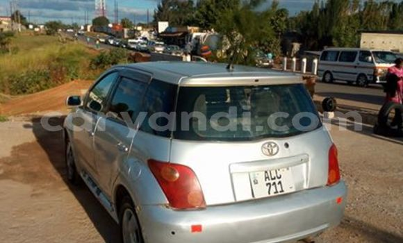 Buy Used Toyota IST Silver Car in Lusaka in Zambia