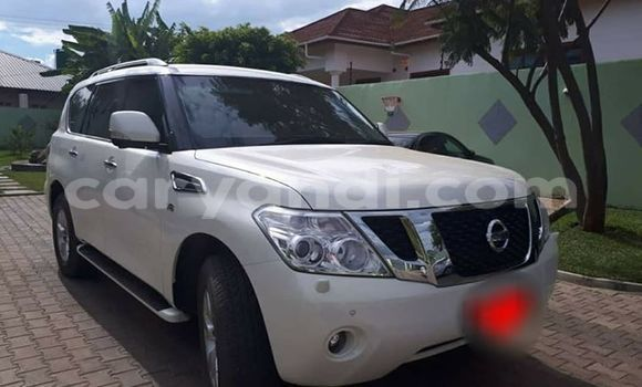 Buy Used Nissan Patrol White Car in Lusaka in Zambia