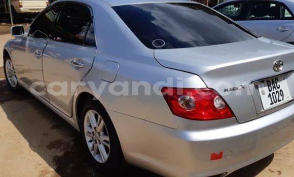 Buy Used Toyota Mark X Silver Car in Lusaka in Zambia