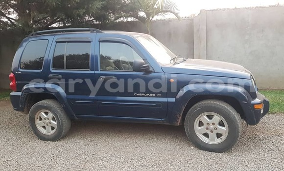 Buy Used Jeep Cherokee Blue Car in Solwezi in North-Western