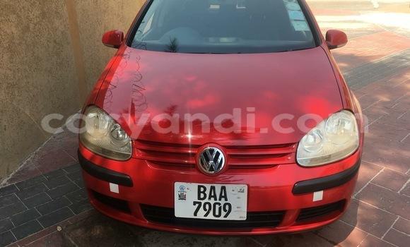 Buy Used Volkswagen Golf Red Car in Lusaka in Zambia