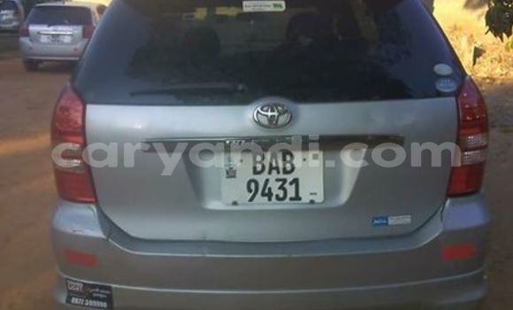 Buy Used Toyota Wish Silver Car in Lusaka in Zambia