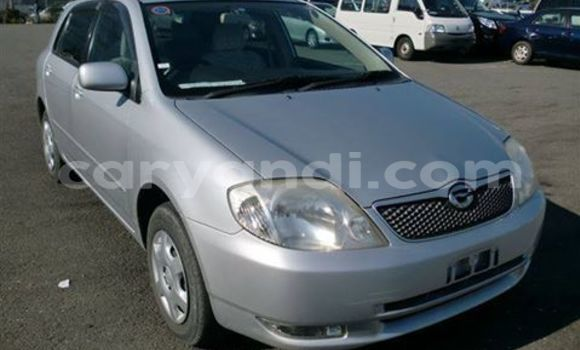 Buy Used Toyota Runx Silver Car in Chingola in Zambia