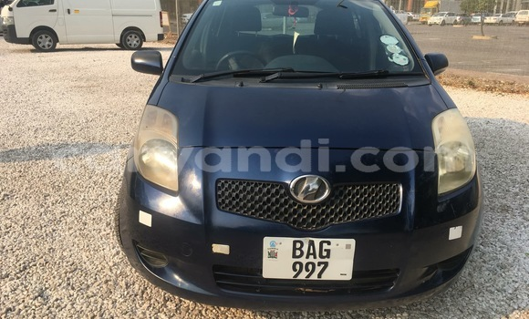 Buy Used Toyota Vitz Blue Car in Lusaka in Zambia