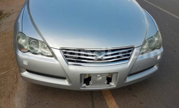 Buy Used Toyota Mark X Silver Car in Chambishi in Copperbelt