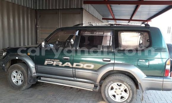 Buy Used Toyota Land Cruiser Prado Green Car in Lusaka in Zambia