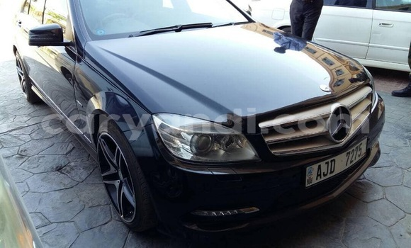 Buy Used Mercedes–Benz C–Class Black Car in Lusaka in Zambia