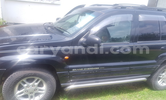 Buy Used Jeep Grand Cherokee Black Car in Kitwe in Zambia
