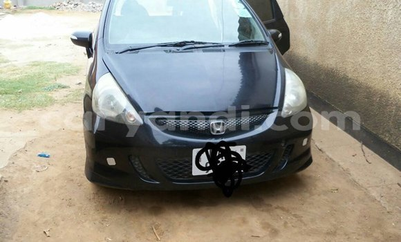 Buy Used Honda Fit Black Car in Lusaka in Zambia
