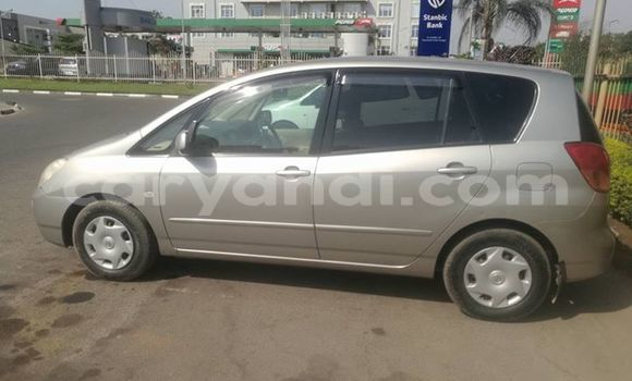 Buy Used Toyota Spacio Silver Car in Lusaka in Zambia