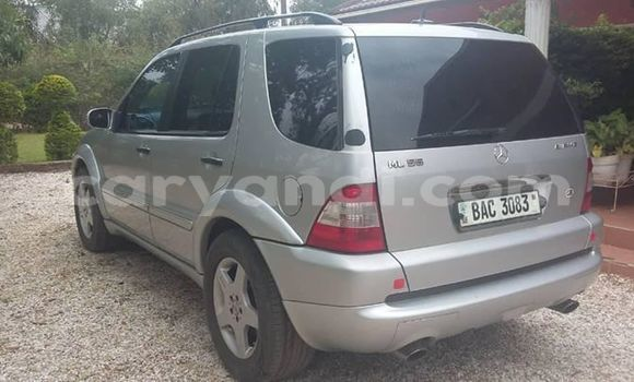 Buy Used Mercedes‒Benz ML–Class Silver Car in Lusaka in Zambia