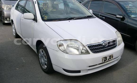 Buy Used Toyota Corolla White Car in Chingola in Zambia