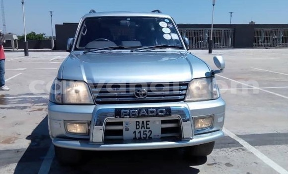Buy Used Toyota Prado Silver Car in Lusaka in Zambia