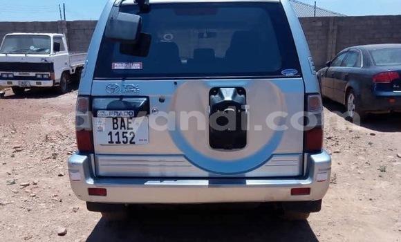 Buy Used Toyota Prado Silver Car in Lusaka in Zambia