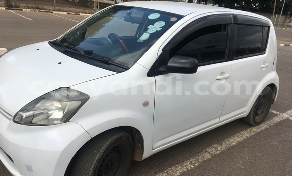 Buy Import Toyota Passo White Car in Lusaka in Zambia