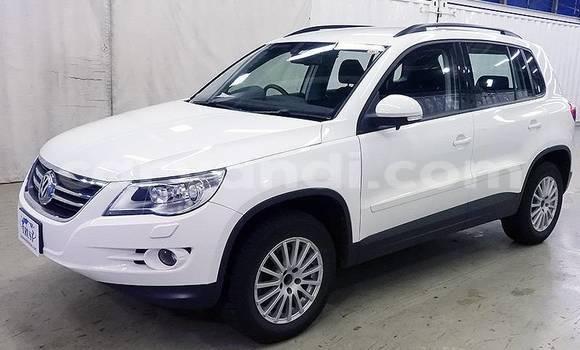Buy Import Volkswagen Touareg White Car in Lusaka in Zambia