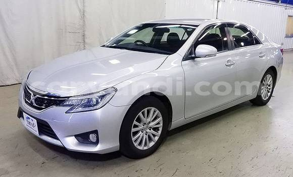 Buy Import Toyota Mark X Silver Car in Lusaka in Zambia