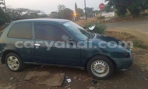 Buy Used Toyota Starlet Green Car in Lusaka in Zambia