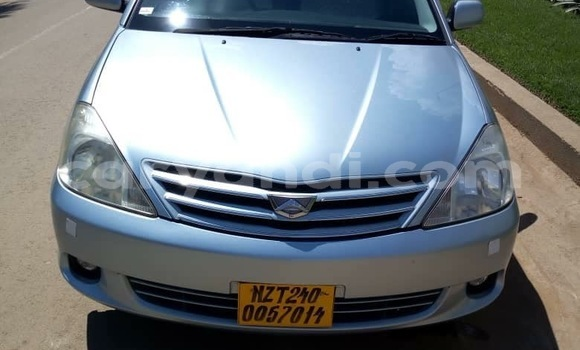 Buy Used Toyota Allion Blue Car in Lusaka in Zambia