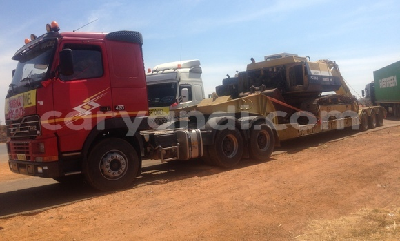 Buy Used Volvo FL Red Truck in Chililabombwe in Copperbelt