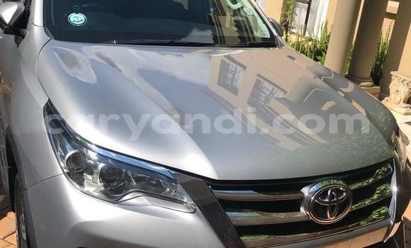 Buy Used Toyota Fortuner Silver Car in Lusaka in Zambia