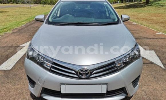 Buy Used Toyota Corolla Silver Car in Chililabombwe in Copperbelt