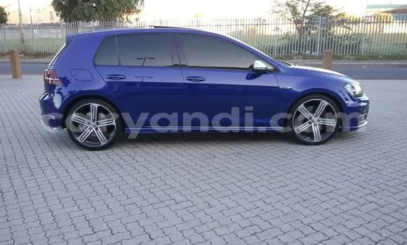 Buy Used Volkswagen Golf Blue Car in Luanshya in Zambia