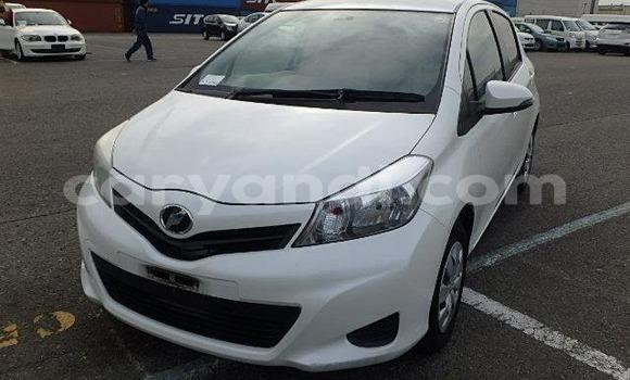 Buy Import Toyota Vitz White Car in Lusaka in Zambia